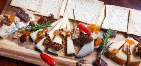Cheese board at the Spaniard Perth: A weekly selection of Spanish cheeses